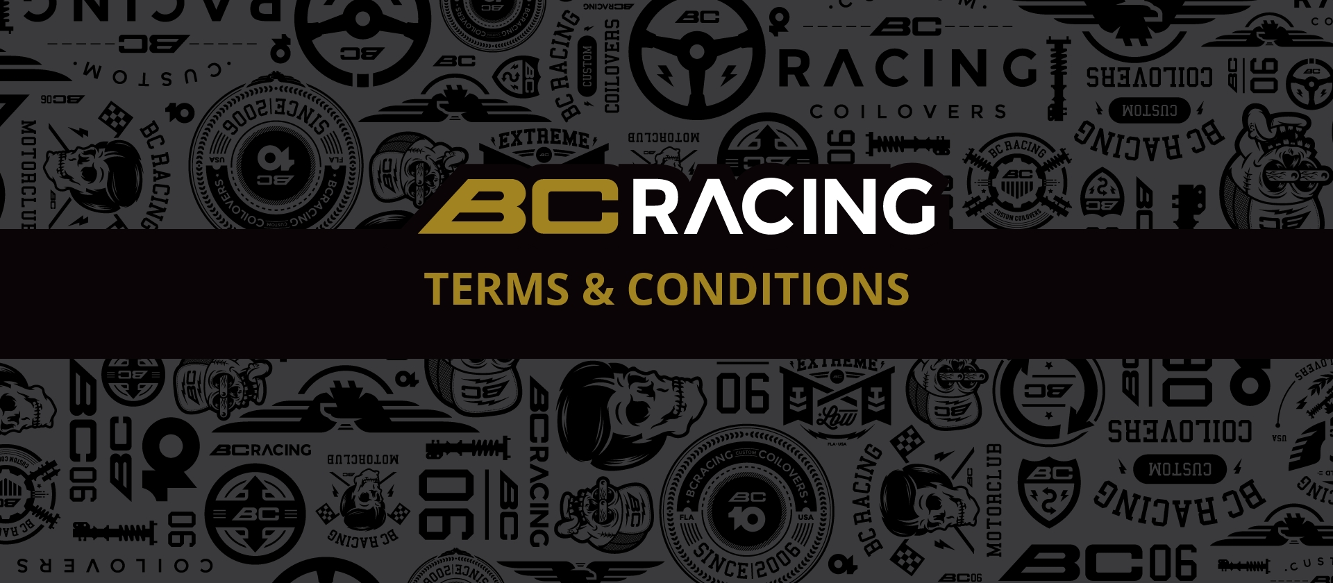 BC Racing Terms & Conditions