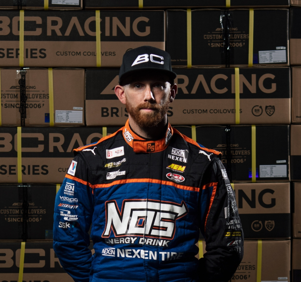 BC Racing Chris Forsberg Portrait