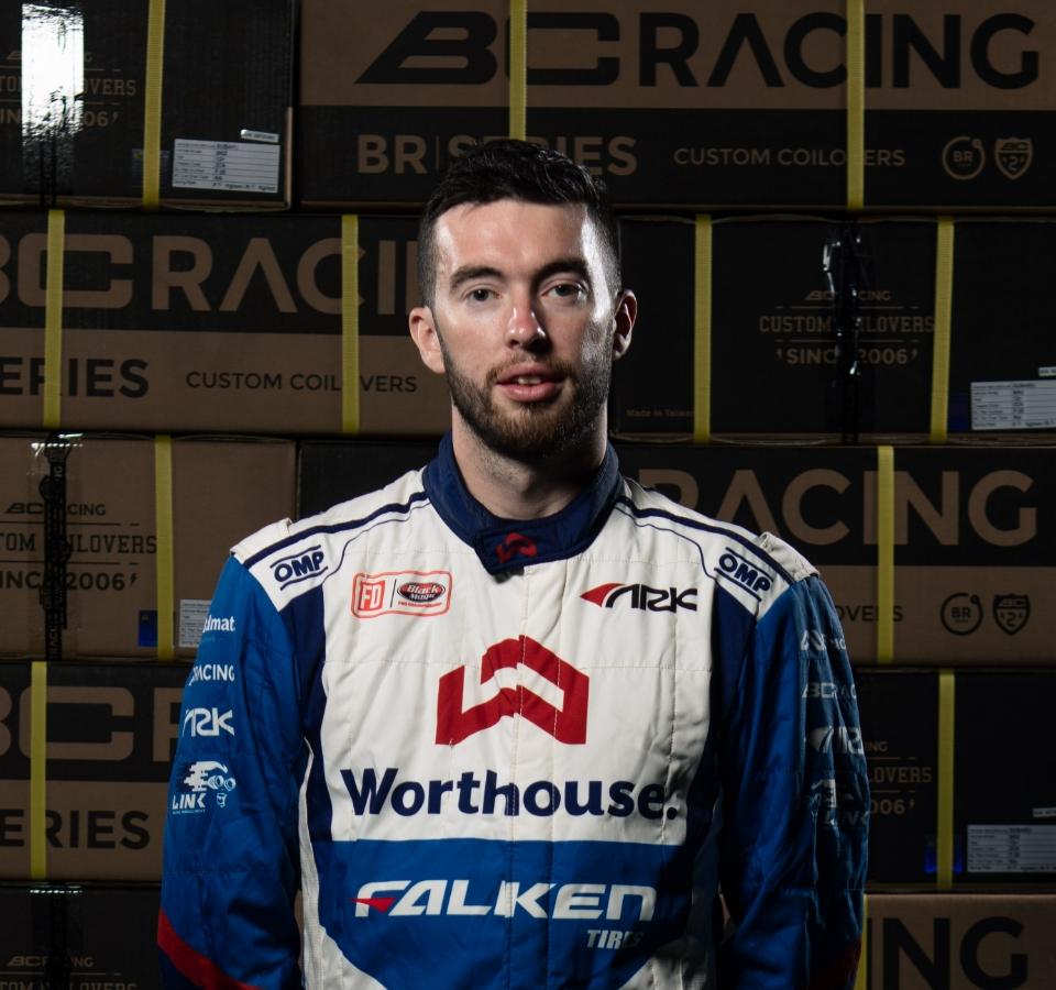 BC Racing James Deane Portrait