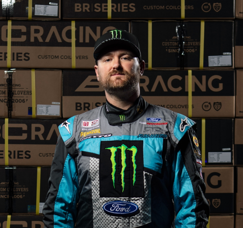 BC Racing Vaughn Gittin Jr. Portrait