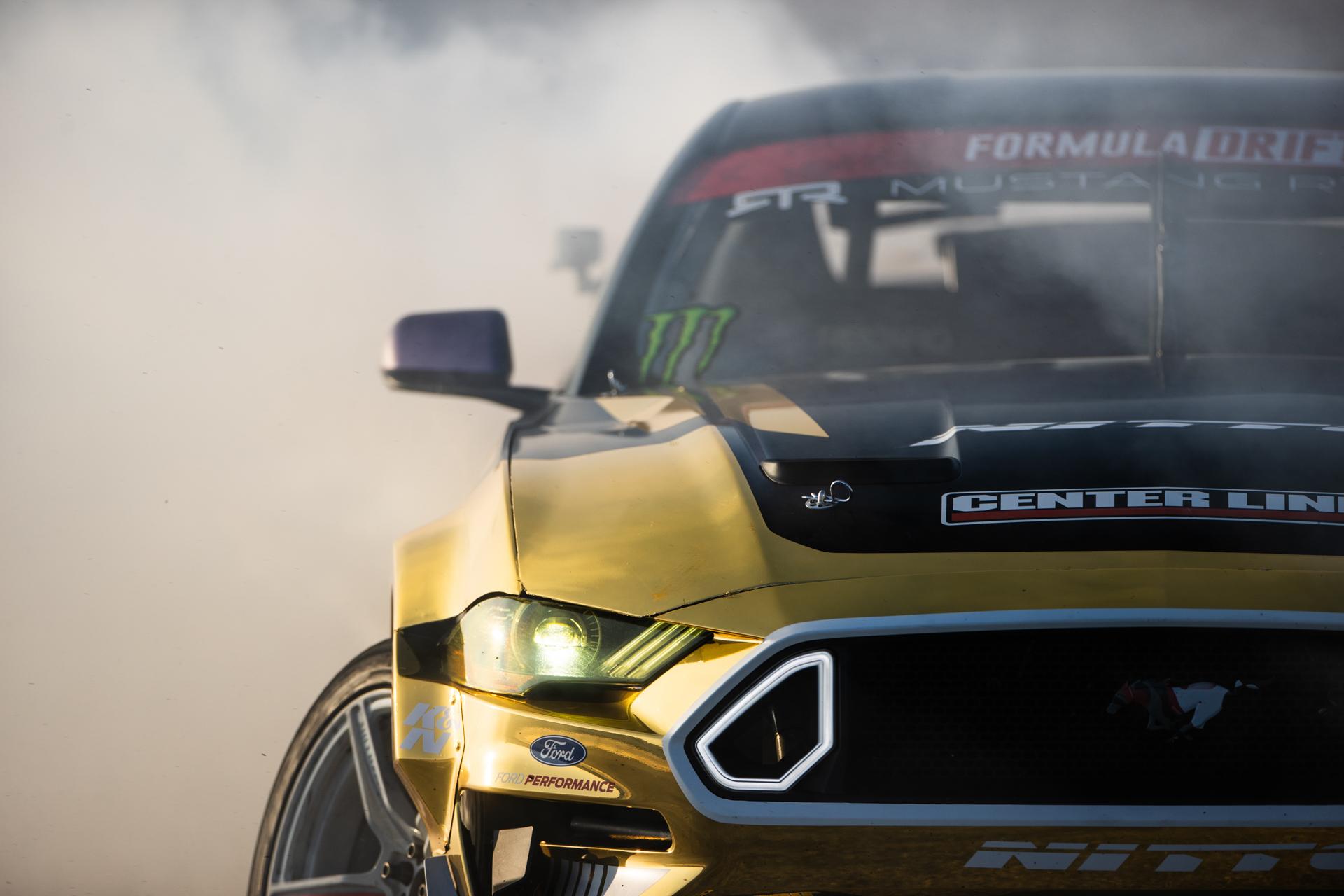 BC Racing Chelsea Denofa Mustang detail