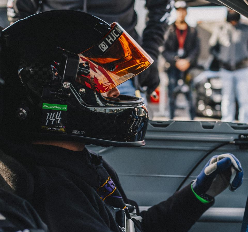 BC Racing Nate Hamilton Portrait